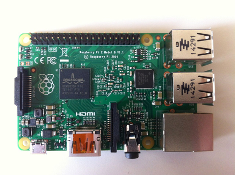 Raspbarry Pi 2 (Foto: CaptNBert)